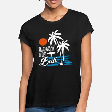 Islands lost in bali - Frauen Oversize T-Shirt