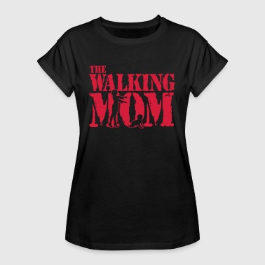 The walking Mom - Baby - Schlaflos - Zombie - T-shirt oversize Femme