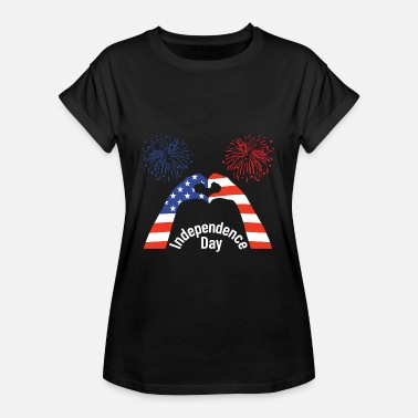 Independence Day Independence Day, USA Independence Day - Dame oversize T-shirt