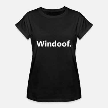 Windows Windows - Frauen Oversize T-Shirt