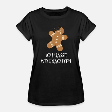 Biscuit Bake Christmas biscuit baking bites off Christmas baking - Women's Oversize T-Shirt