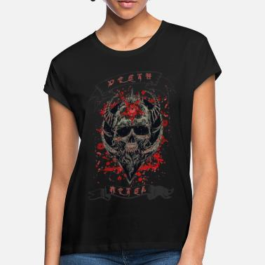 Heavy Death Metal Heavy Rock Music - Women's Loose Fit T-Shirt