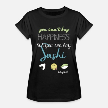Sushi SmileyWorld You Can Buy Sushi - T-shirt oversize Femme
