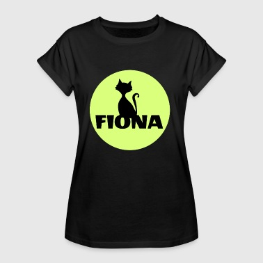Name Surname Fiona Surname First name - Women's Oversize T-Shirt
