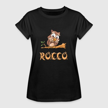 Rocco Owl Rocco - T-shirt oversize Femme