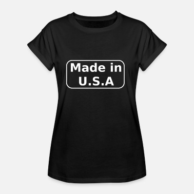 Made In Usa Made in USA - Naisten oversized-t-paita