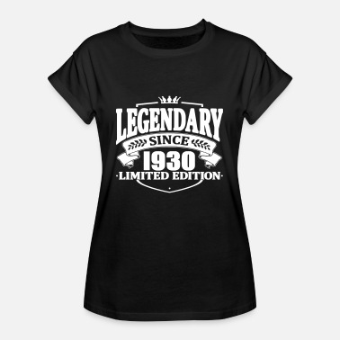 1930 Legendarisk sedan 1930 - Oversize-T-shirt dam