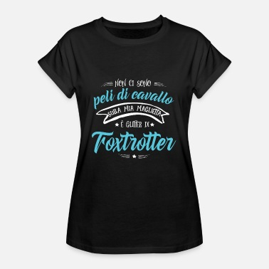Trotter Glitter of Fox Trotter Regalo - Women's Oversize T-Shirt