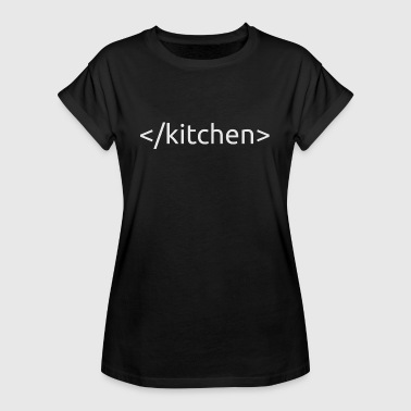 kitchen - Women's Oversize T-Shirt