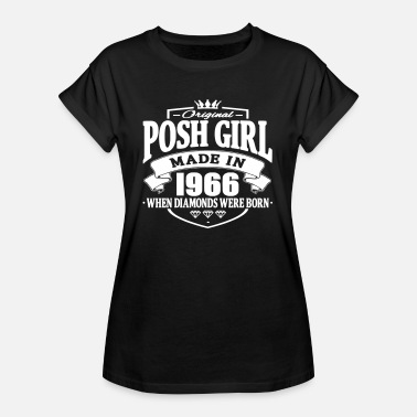 Posh Girls Posh girl made in 1966 - Women's Oversize T-Shirt