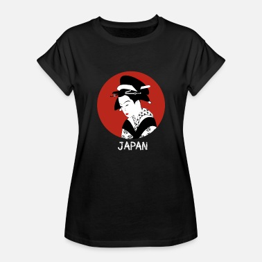 Cosplay japan geisha manga cosplay - Women's Oversize T-Shirt