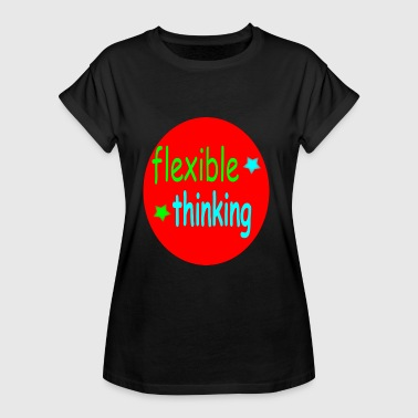 Flexibility flexible thinking colorful - Women's Oversize T-Shirt