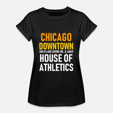 Windy City Chicago Downtown - House of Athletics - Illionois - Frauen Oversize T-Shirt