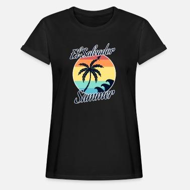 El salvador - Camiseta holgada de mujer 6544690df14ba