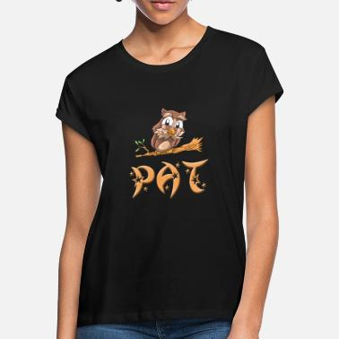 Pat Owl pat - Women's Loose Fit T-Shirt