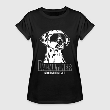 DALMATINER coolest dog ever - Women's Oversize T-Shirt
