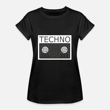 Turntable Techno Turntable - Oversize T-shirt dame