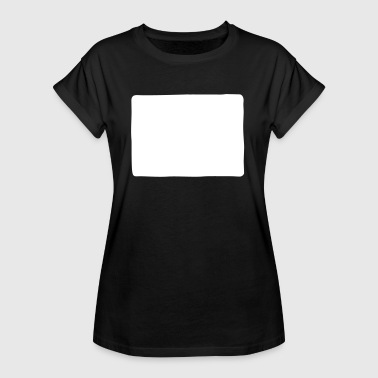 Square Square shape - Women's Oversize T-Shirt