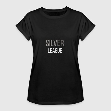 T-shirt lol Silver League Legends - Vrouwen oversize T-shirt