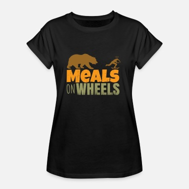 Peluches Taekwondo skateboard - meals on wheels - Camiseta holgada de mujer