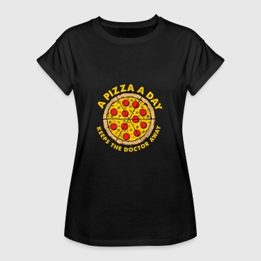 Dokter Pizza / Gift - Vrouwen oversize T-shirt
