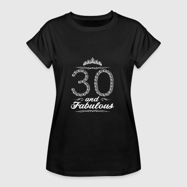 30 years 30th birthday - Women's Oversize T-Shirt