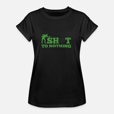 Snooker shot to nothing - Women's Oversize T-Shirt
