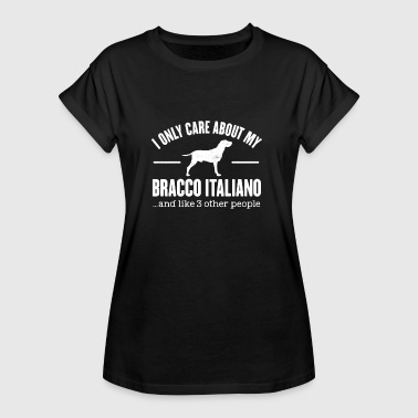 Bracco Italiano Dog Owner Cool Dog Idea regalo - Maglietta ampia da donna
