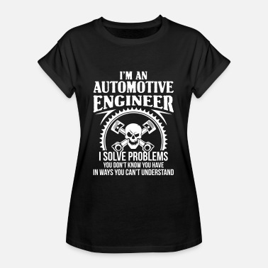 Automotive Automotive Engineer - car-auto - Women's Oversize T-Shirt