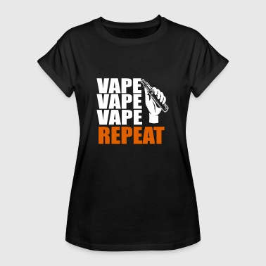 18650 E-Shisha Electric Cigarette Your Steamer Shirt Vape - Women's Oversize T-Shirt