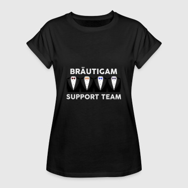 Bräutigam Support Team Brautigam Support Team - JGA - Frauen Oversize T-Shirt