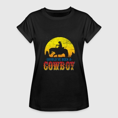 West Cowboy Wild West USA Horse Country Music - Vrouwen oversize T-shirt
