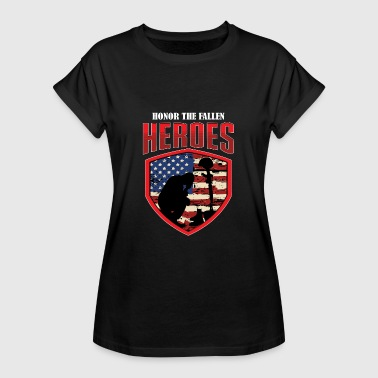 Kill Army Heroes - Army veterans and patriots - Women's Oversize T-Shirt