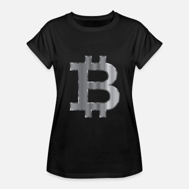 Steelers Bitcoin Steel - Dame oversize T-shirt