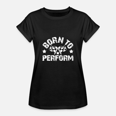 Course Automobile course automobile - T-shirt oversize Femme