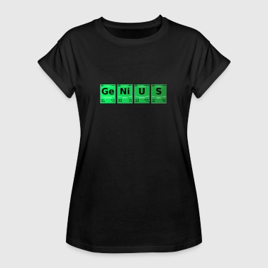 Science Periodic Table Genius Periodic Table - Women's Oversize T-Shirt