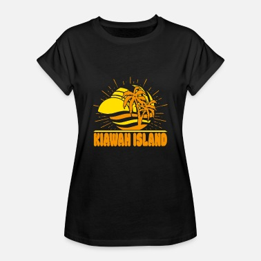 South Carolina T-shirt Kiawah Island USA South Carolina - Maglietta ampia da donna