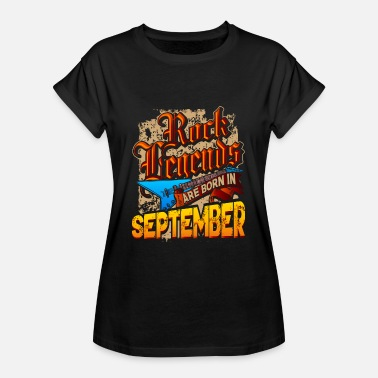 Legenden 1966 Rock Legenden sind im September geboren - Frauen Oversize T-Shirt