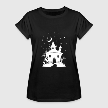 Haunted House, scary house Halloween haunted house - Women's Oversize T-Shirt