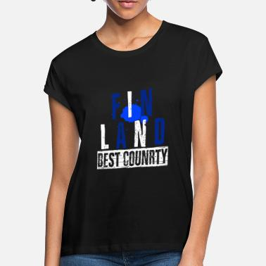 Finland Finland - Best Country - Women's Loose Fit T-Shirt