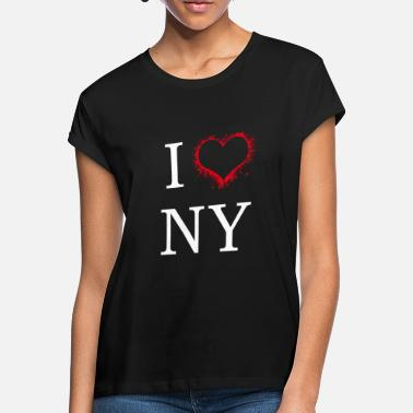 I Love New York I Love New York Idea de regalo - Camiseta holgada mujer