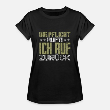 Call Of Duty The duty calls I call back - Women's Oversize T-Shirt