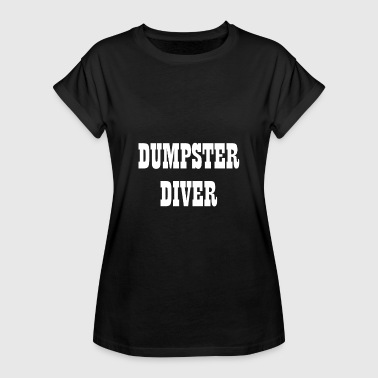 Dumpster Diver Containers - Dame oversize T-shirt