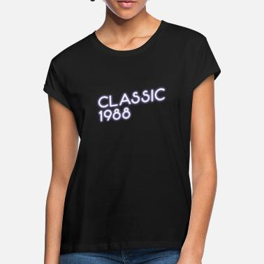 Light 30th Birthday, Classic 1988 Year of Birth Vintage - Women's Loose Fit T-Shirt