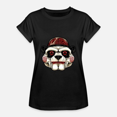 Anonymus Panda Anonymus Cerveau Halloween - T-shirt oversize Femme