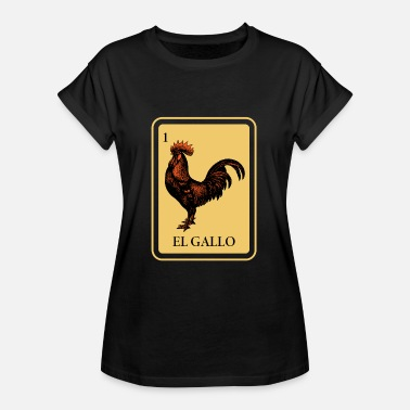 El Arte EL GALLO - Women's Oversize T-Shirt
