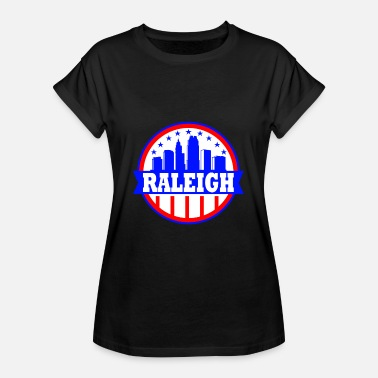 Raleigh Raleigh North Carolina NC Vintage Area Code Gift - Dame oversize T-shirt