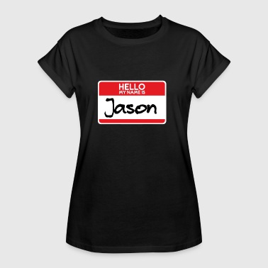 Scary Movie Jason Halloween Costume Horror Film Scary Movie Trick or Treat Gift - Women's Oversize T-Shirt