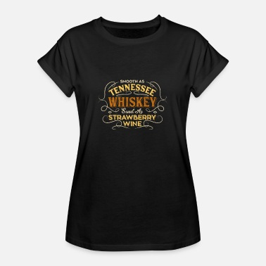 Tennessee Smooth Tennessee Whiskey Strawberry Wine Gift - Women's Oversize T-Shirt