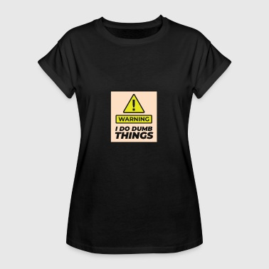 Warn warning - Women's Oversize T-Shirt